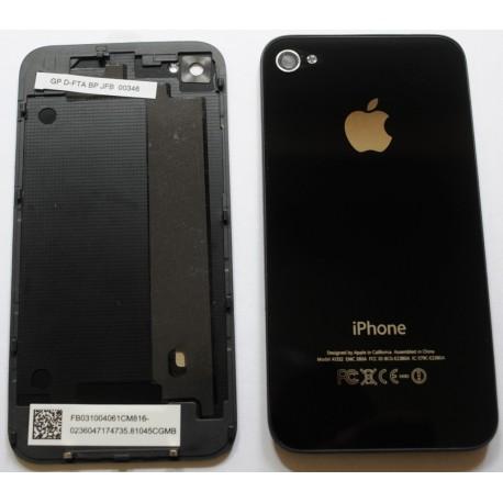 vitre arriere noire iphone4