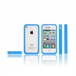 La coque de protection Bumper iPhone 4 souple et fluorescente (s'illumine dans le noir)