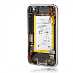 Coque arrière noire complète de remplacement iPhone 3GS
