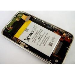 Coque arrière noire complète de remplacement iPhone 3G