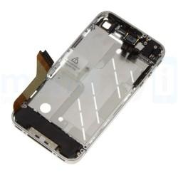 Châssis iPhone 4 chrome bezel avec les bouton et les nappes
