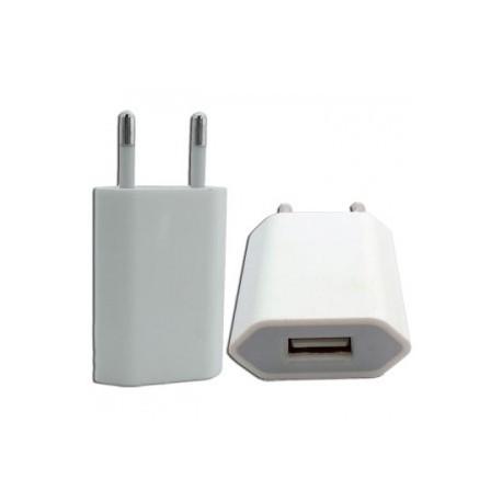 Chargeur secteur avec prise USB pour iPhone
