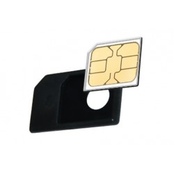 Adaptateur micro SIM pour iPhone et iPad