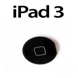 Bouton Home iPad 3 noir