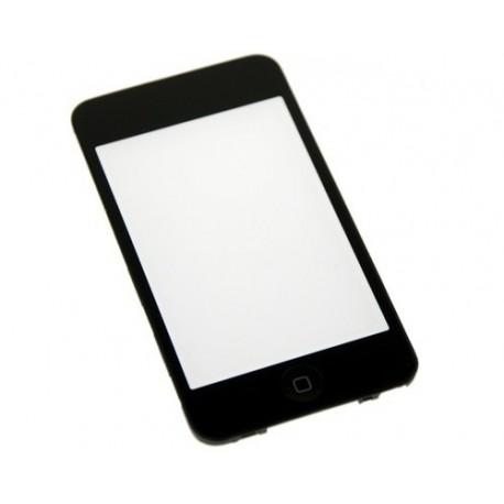 Vitre tactile montée sur châssis iPod Touch 3G