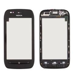 Nokia Lumia 710 Vitre tactile assemblée sur châssis