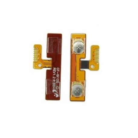 Nappe bouton volume Samsung Galaxy S2