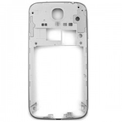 Châssis contour argent chrome bezel coque Samsung Galaxy S4 i9505