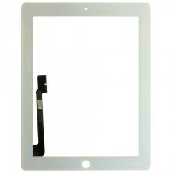 Vitre tactile iPad 4 Blanc Apple