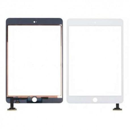Vitre tactile iPad Mini Blanc