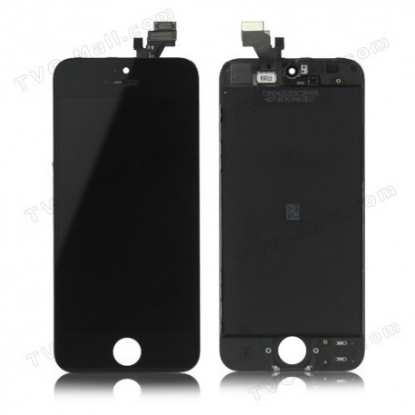 Ecran LCD Retina avec vitre tactile iPhone 5G noir