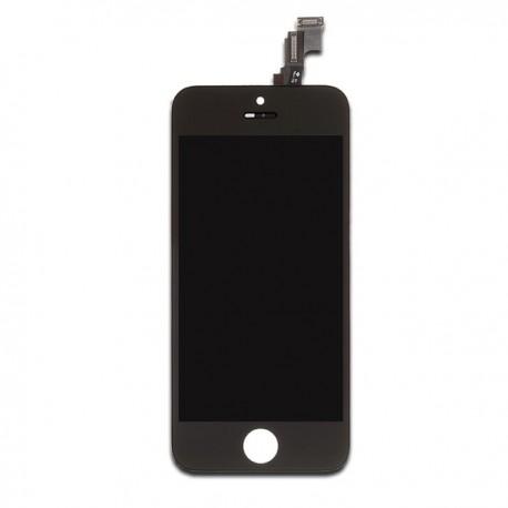 Ecran LCD Retina avec vitre tactile iPhone 5S noir
