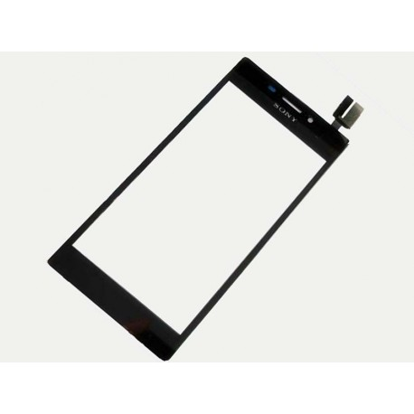 Vitre tactile Sony Xperia M2 D2305 D2306 noir