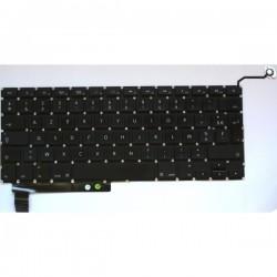 Clavier AZERTY Macbook Pro avec retro-eclairage unibody 15 pouces A1286