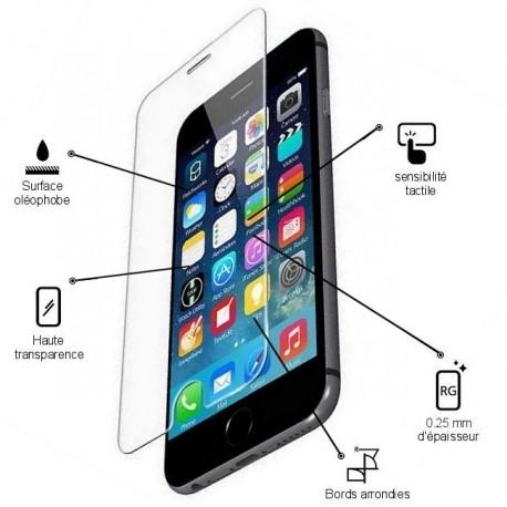 Film de protection en Verre Trempé pour iPhone 6 / 6S