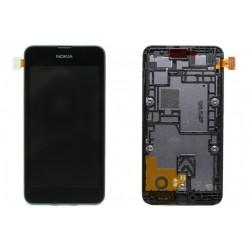 Ecran LCD vitre tactile assemblés sur châssis Nokia Lumia 530