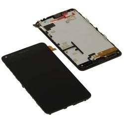 Ecran LCD vitre tactile assemblés sur châssis Nokia Lumia 640